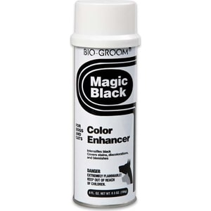 Спрей BIO-GROOM Magic Black Color Enhancer черный выставочный для кошек и собак 236мл (51908) e home groom 3550cm холст