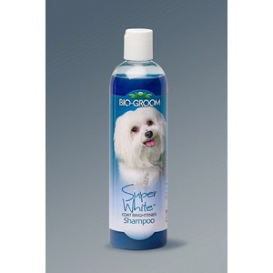 Шампунь BIO-GROOM Super White Shampoo супер белый осветляющий для собак 355мл (21112) bio groom ear care ушные капли 118 мл