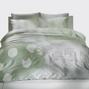 Комплект постельного белья TAC 1,5 сп, сатин Grisel, мятный (3080-20686) комплект постельного белья tac 1 5 сп ранфорс diane v06 mint мятный 3040 68074