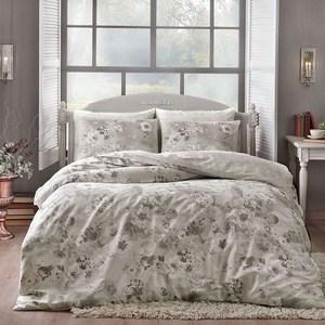 Комплект постельного белья TAC 1,5 сп, сатин Allure, серый (3080-20671)