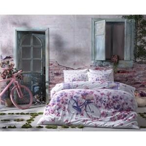 Комплект постельного белья TAC 2-х сп, сатин Vincent, фуксия (3081-20681) tac