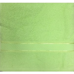 Полотенце Brielle Basic green 70x140 зеленый (1210-85105)