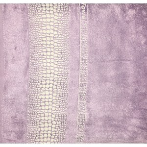 Полотенце Brielle Bamboo Crocodile 70x140 lilac лиловый (1213-85604)