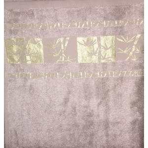 Полотенце Brielle Bamboo Gold 70x140 mocha мокко (1213-85608) открытка конверт мокко студия тетя роза