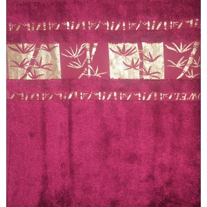 Полотенце Brielle Bamboo Gold 70x140 burgundy бургунди (1213-85610) велосипед format 1213 27 5 2017