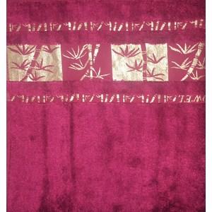 Набор полотенец 6 штук Brielle Bamboo Gold 30x50 burgundy бургунди (1211-85643) набор кухонных полотенец pupilla miranda 3d бамбук 30x50 3 штуки 8679