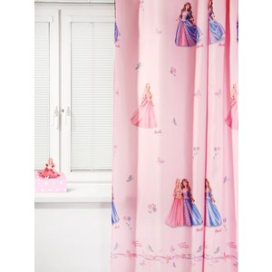 Штора портьерная детская TAC Барби. Принцесса и Нищенка 200x265 розовый (GS0443) штора портьерная детская tac винни радуга 200x265 персиковый gs0022