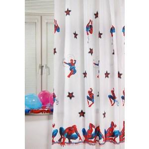 Штора портьерная детская TAC Spider-Man 200x265 белый (GS0442) штора портьерная детская tac винни радуга 200x265 персиковый gs0022