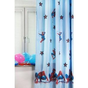 Штора портьерная детская TAC Spider-Man 200x265 голубой (GS0468) штора портьерная детская tac винни радуга 200x265 персиковый gs0022