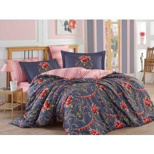 где купить Комплект постельного белья Hobby home collection 1,5 сп, сатин Ornella красное по лучшей цене