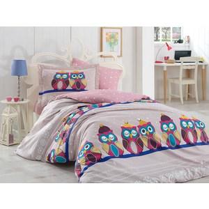 Детское постельное белье Hobby home collection 1,5 сп, поплин Linda лиловое