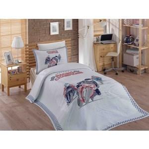 Детское постельное белье Hobby home collection 1,5 сп с покрывалом жаккард Le-Man твой стиль детское постельное белье 1 5 сп твой стиль disney очаровательная мари