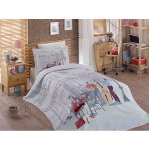 Детское постельное белье Hobby home collection 1,5 сп с покрывалом жаккард Marsele твой стиль детское постельное белье 1 5 сп твой стиль disney очаровательная мари