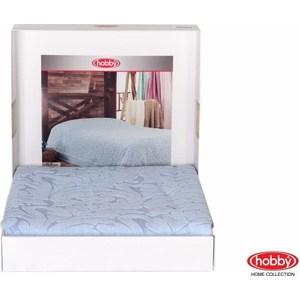 Покрывало Hobby home collection 1,5 сп, махровое, Sultan Голубой