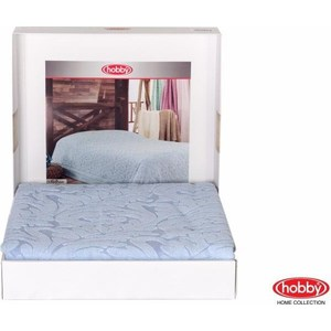 Покрывало Hobby home collection 2-х сп, махровое, Sultan Голубой