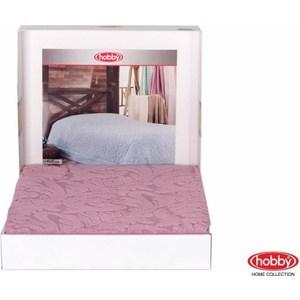 Покрывало Hobby home collection 2-х сп, махровое, Sultan Розовый покрывало hobby home collection 2 х сп жаккард вафельное anastasiya светло розовый 1501001411