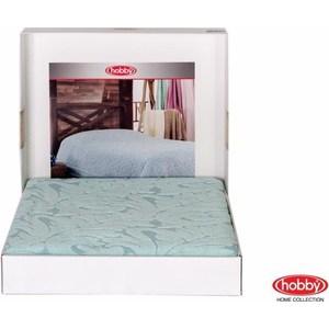 Покрывало Hobby home collection 2-х сп, махровое, Sultan Минт