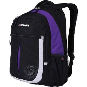 Рюкзак Wenger MONTREUX чёрный/пурпурный/серебрянный (13852915)
