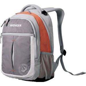 Рюкзак Wenger MONTREUX серый/оранжевый (13854715)