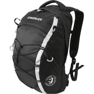 Рюкзак Wenger черный/серебристый (30532499) рюкзак wenger 3191203408 синий черный бирюзовый 22л