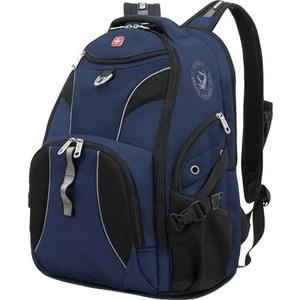 Рюкзак Wenger синий/черный (98673215) рюкзак wenger 3191203408 синий черный бирюзовый 22л