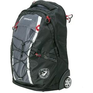 Рюкзак Wenger на колёсах черный/серый