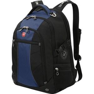 Рюкзак Wenger черный/синий (3118302408)
