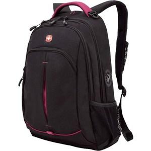 Рюкзак Wenger черный/фуксия (3165208408) рюкзак wenger чёрный синий 3263203410