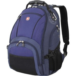 Рюкзак Wenger синий/черный, 35x19x44 см, 29 л