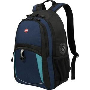 Рюкзак Wenger синий/черный/бирюзовый (3191203408) рюкзак wenger чёрный синий 3263203410