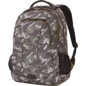 Рюкзак Wenger зеленый камуфляж, 34 л (6659600408) рюкзак рыболовный salmo 105 л цвет зеленый