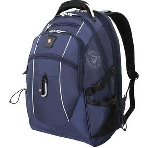 Рюкзак Wenger синий/серебристый (6677303408) 38 л рюкзак wenger чёрный синий 3263203410