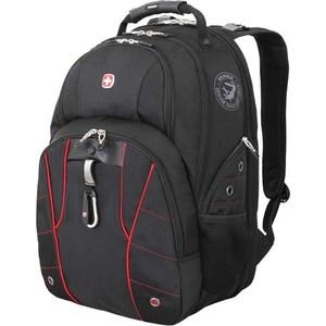 Рюкзак Wenger чёрный/красный (6939201408) 29 л цена и фото