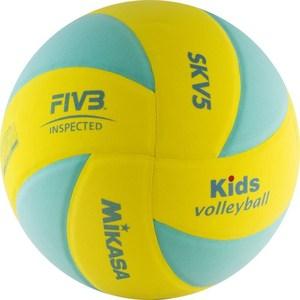 Мяч волейбольный Mikasa SKV5-YLG р. 5 мяч волейбольный indigo blossom 5