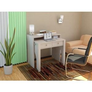 Стол-консоль для ноутбука ВасКо ПС 40-10 дуб молочный письменный стол детский васко пс 40 03 дуб молочный шатура столы и стулья
