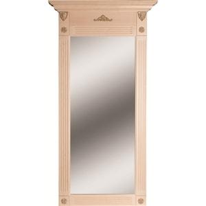 Зеркало Мебелик Сильвия белый ясень банкетка мебелик сильвия эко кожа молочный белый ясень