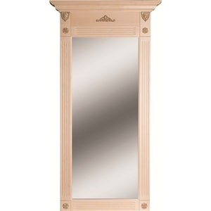 Зеркало Мебелик Сильвия белый ясень