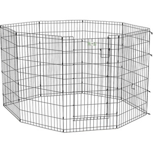 Вольер Midwest Life Stages 42 Black Exercise Pen with Full MAX Lock Door 8 панелей 61х107h см с дверью MAXLock черный для животных bosck top luxury brand watch men casual brand watches male quartz watches men waterproof business watch military stainless steel
