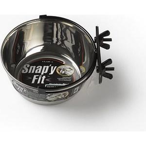 Миска Midwest Snapy Fit Stainless Steel Bowl 1 Quart для клеток и вольеров нержавеющая сталь 950мл миска на клетку midwest металлическая 600мл