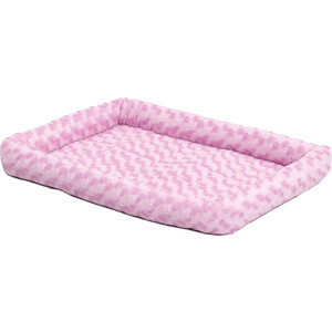 Лежанка Midwest Quiet Time Fashion Pet Bed - Pink 24 плюшевая 61х46 см розовая для кошек и собак жилеты для животных pet s fashion жилетка