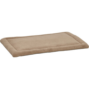 Лежанка Midwest Quiet Time Taupe Micro Terry Pet Bed (Crate) 36 плюшевая 89х58 см бежевая для собак
