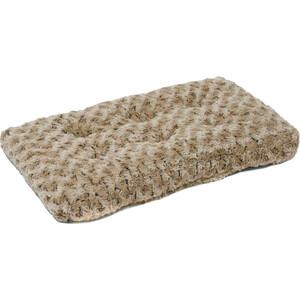 "Лежанка Midwest Ombre' Mocha Swirl Fur Pet Bed 18"" плюшевая с завитками 43х28 см мокко для кошек и собак"