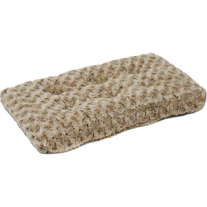 купить Лежанка Midwest Ombre' Mocha Swirl Fur Pet Bed 22 плюшевая с завитками 53х31 см мокко для кошек и собак