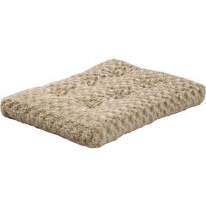 "Лежанка Midwest Ombre' Mocha Swirl Fur Pet Bed 30"" плюшевая с завитками 74х53 см мокко для собак"