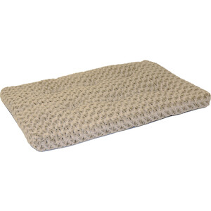 "Лежанка Midwest Ombre' Mocha Swirl Fur Pet Bed 36"" плюшевая с завитками 89х58 см мокко для собак"