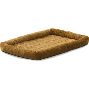 Лежанка Midwest Quiet Time Pet Bed - Cinnamon 42 меховая 107х66 см коричневая для собак