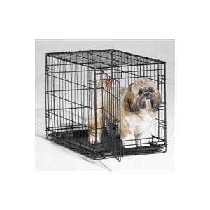 Клетка Midwest iCrate 24'' Dog Crate 61x46x48h см 1 дверь черная для собак