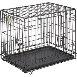 Клетка Midwest iCrate 24'' Double Door Dog Crate 61x46x48h см 2 двери черная для собак