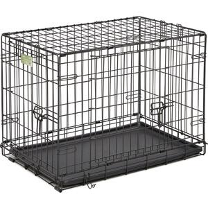 Клетка Midwest iCrate 30'' Double Door Dog Crate 76x48x53h см 2 двери черная для собак