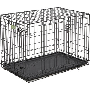 Клетка Midwest iCrate 36'' Double Door Dog Crate 91x58x64h см 2 двери черная для собак